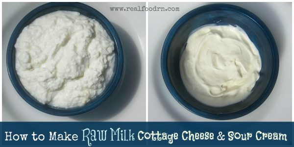 Homemade-cottage-cheese-homemade-sour-cream