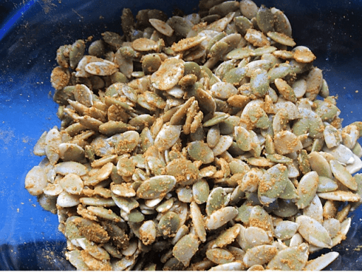 Screen Shot 2013 08 31 at 9.05.09 PM Curry Spiced Pumpkin Seeds