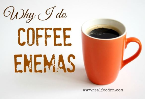 coffee enema 1024x699 Why I do Coffee Enemas