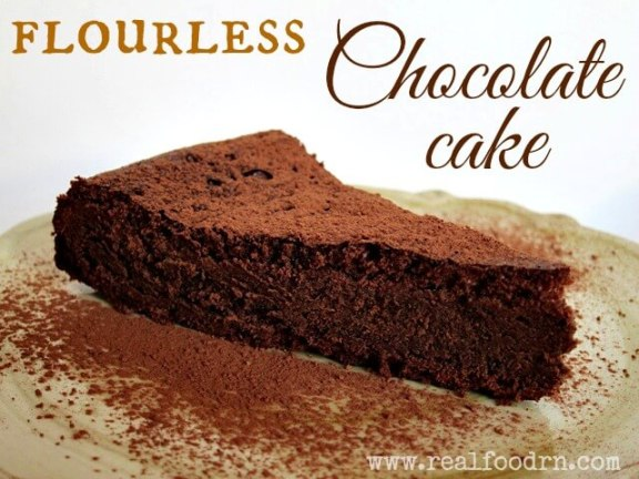 flourless chocolate cake Flourless Chocolate Cake {paleo}