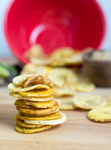 Baked Plantain Chips | the Movement Menu