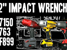 impact wrenches - milwaukee, dewalt and ingersoll