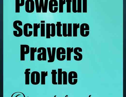 6 Powerful Scripture prayers for the overwhelmed mom who doesn't know how to pray. Praises and prayers for daily strength and for guidance in mothering.