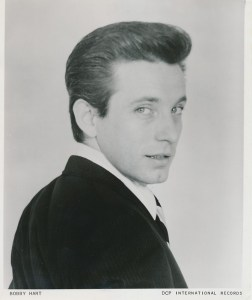 Early publicity photo of Bobby Hart.