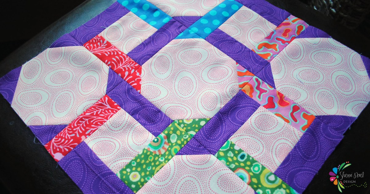 Sew Scrappy Sampler ~ Block 8