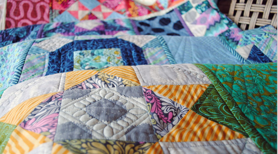 Quilt as You Go... Block of Month... Finished!