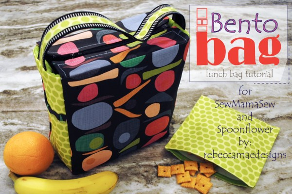 Bento Bag ~ a lunch and snack bag tutorial