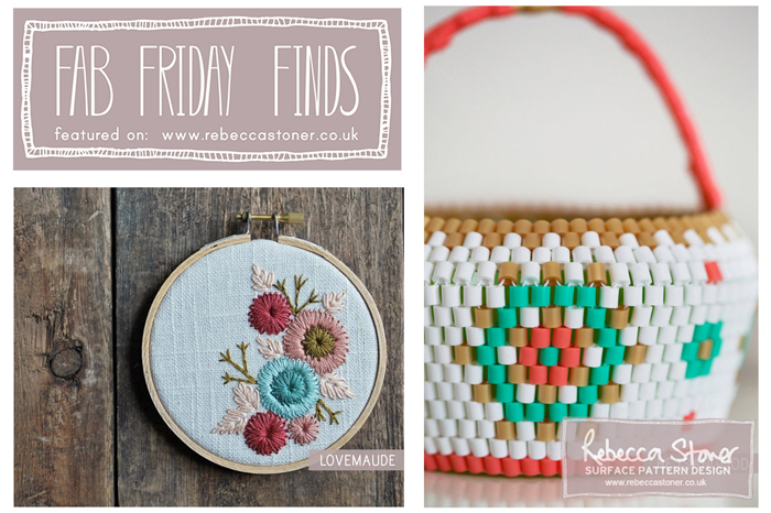 Fab Fridday Finds - Blog Post - Rebecca Stoner