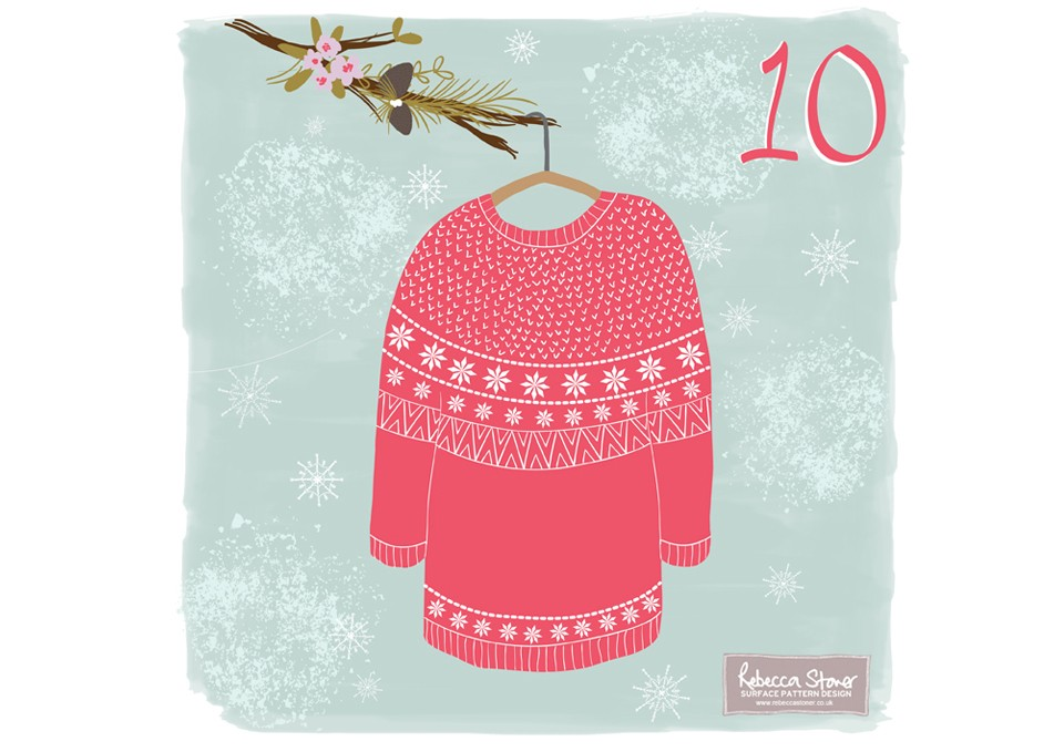 Christmas Advent 2014_Jumper  by Rebecca Stoner