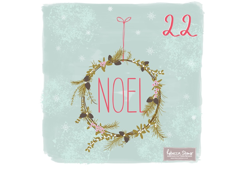 Christmas Advent 2014_Wreath  by Rebecca Stoner