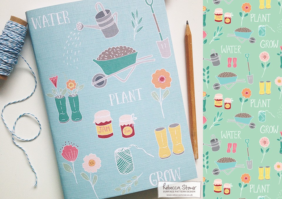 I Love My Garden Notebook by Rebecca Stoner