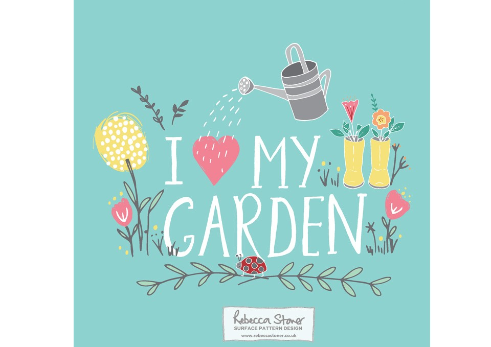 I Love My Garden_1 by Rebecca Stoner