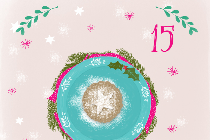 Illustrated Advent 2015 day 15 by Rebecca Stoner
