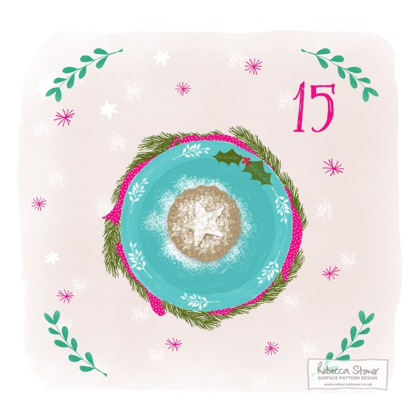 Illustrated Advent Day 15 by Rebecca Stoner
