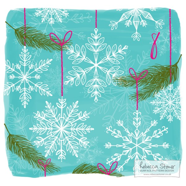 Illustrated Advent Day 8 by Rebecca Stoner