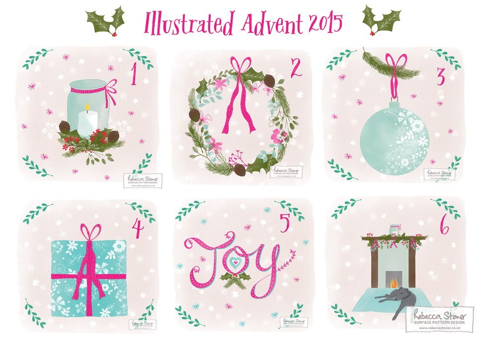 Illustrated Advent_1 by Rebecca Stoner