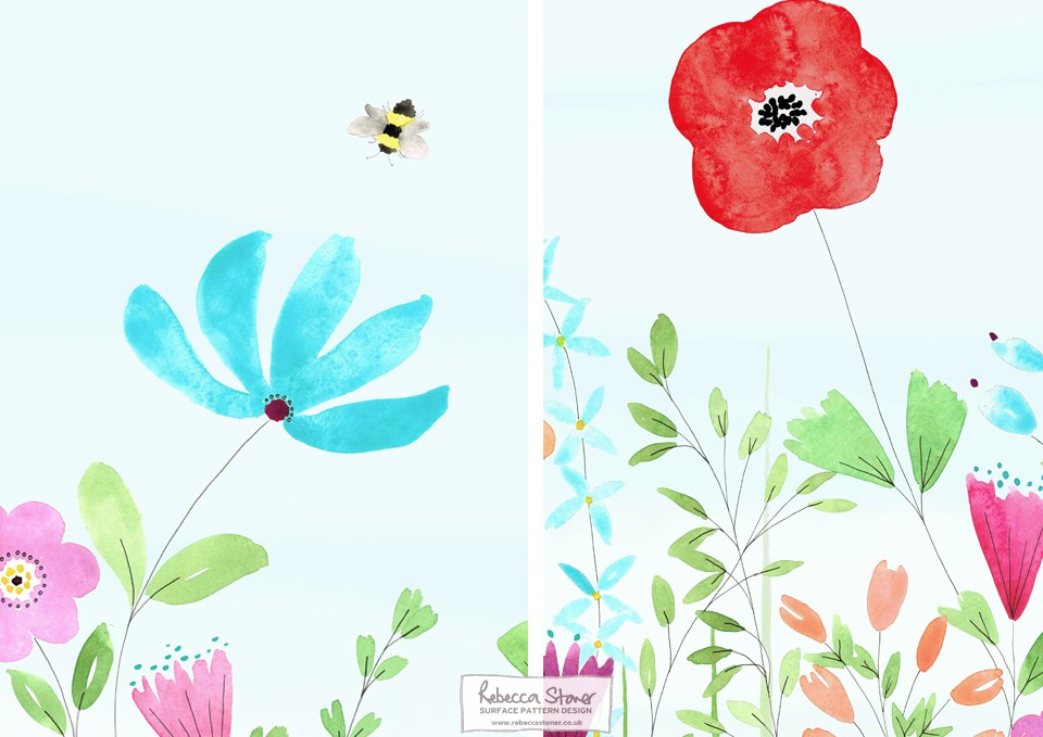 Oncology Wallpaper_sections by Rebecca Stoner