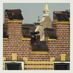 Kanon op het dak