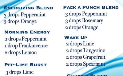 Energizing Diffuser Blends