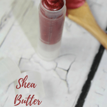 Shea Butter Lipstick with Essential Oils