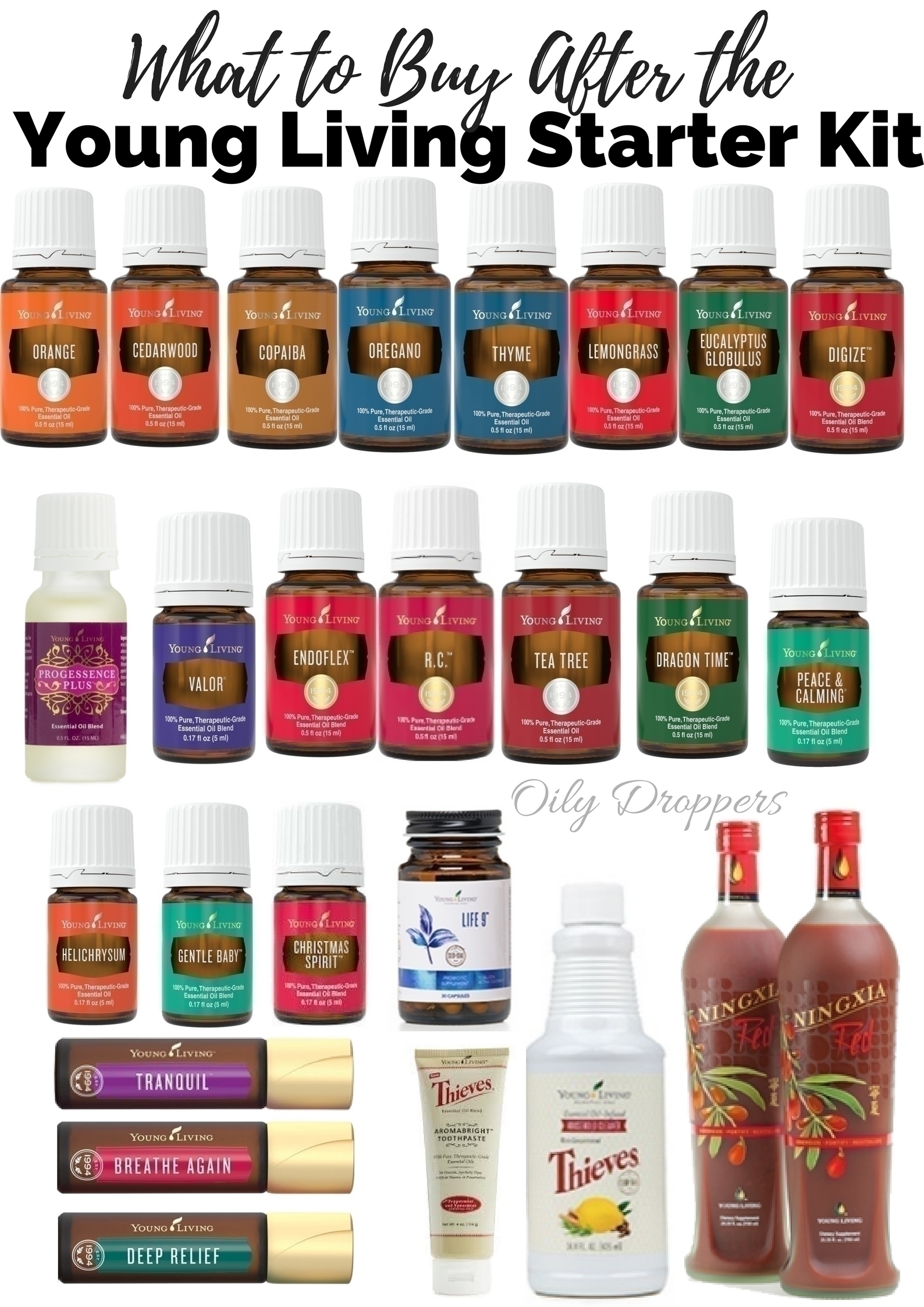 The Young Living Premium Starter Kit is one of the BEST investments you could ever make in your health. But what do you buy beyond that? Here are 25 essentials that you should think about after you buy the Young Living Premium Starter Kit.