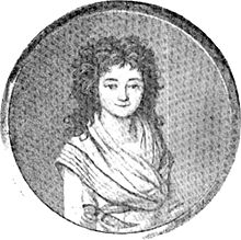 This is not Maire de Condorcet, it's his wife Sophie. Marie (less attractive) was executed by Robespierre for being a Republican.