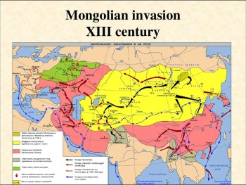 In a few years, Genghis Kahn and his sons conquered the largest contiguous empire in history.