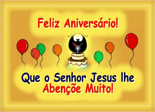 Recado Facebook Feliz aniversário, Deus te abençoe