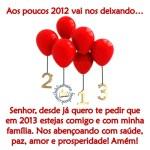 Recado Facebook Deus abençoe 2013!