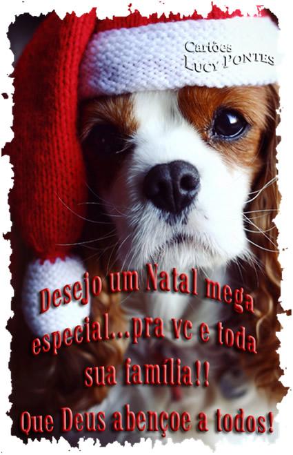 Recado Facebook Tenha um natal mega especial!