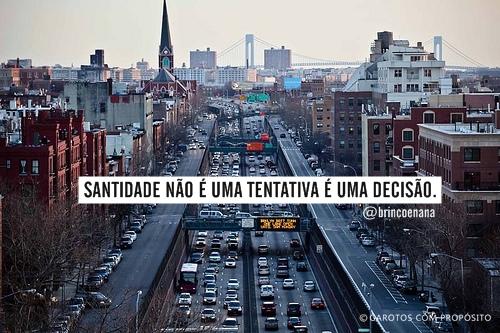 Recado Facebook Santidade