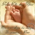 Recado Facebook Mãe é um presente de Deus!