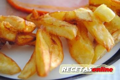 Patatas fritas ultra rápidas - Recetas de cocina RECETASonline