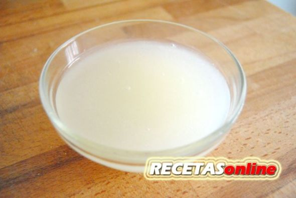 Salsa de limón agridulce - Recetas de cocina RECETASonline
