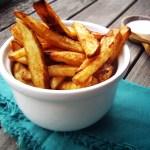 frites maison - french fries © par Fanny GRW - Recettes d'ici et d'ailleurs