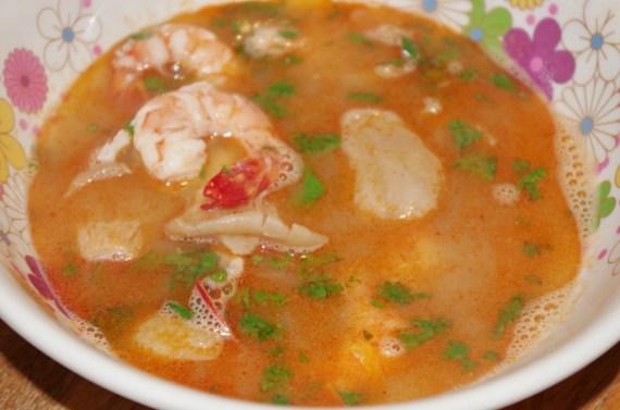 SOUPE THAÏ Tom Yam Goong - la vraie recette thaïlandaise © par Fanny GRW - Recettes d'ici et d'ailleurs