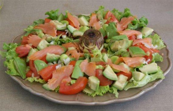 salade printanière © par Fanny GRW - Recettes d'ici et d'ailleurs