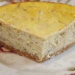 Cheesecake à la rhubarbe - Cuisine américaine © par Fanny GRW - Recettes d'ici et d'ailleurs