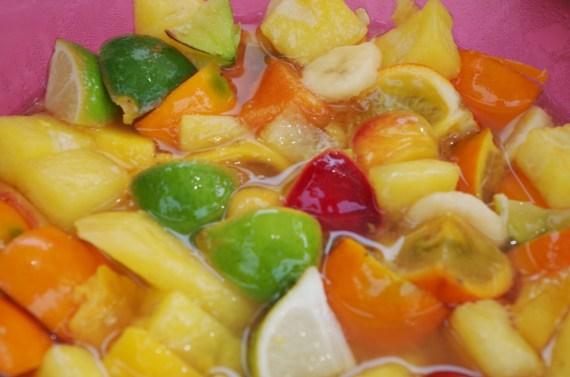 Sangria blanche poivrons à l'huile - Cuisine maison © par Fanny GRW - Recettes d'ici et d'ailleurs