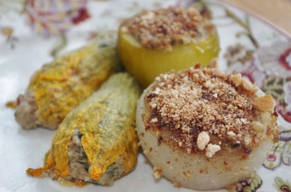 Recette des farcis niçois - Cuisine niçoise © par Fanny GRW - Recettes d'ici et d'ailleurs