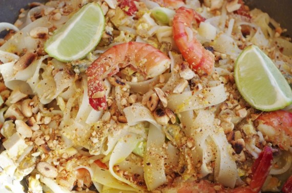 Pad Thaï - Cuisine thaï © par Fanny GRW - Recettes d'ici et d'ailleurs