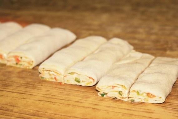Pain tibétain Party Bread fourré aux légumes - Cuisine tibétaine © Recettes d'ici et d'ailleurs