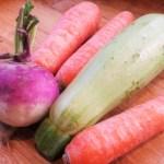 Légumes pour la soupe