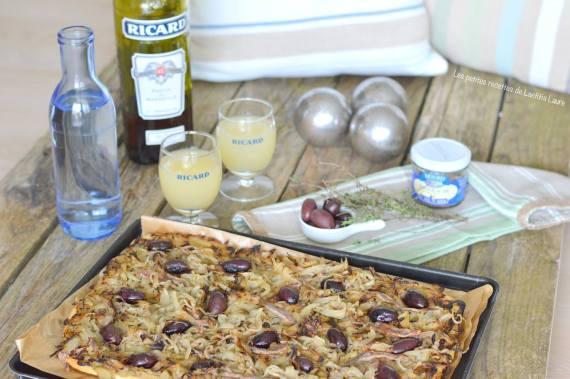 Pissaladière niçoise par Les petites recettes de Laetitia Laure