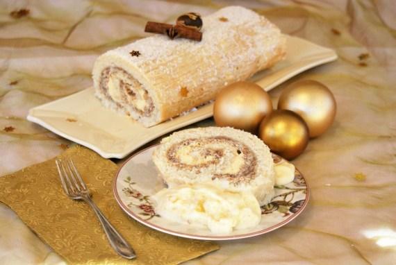 Bûche de Noël Trianon des Iles