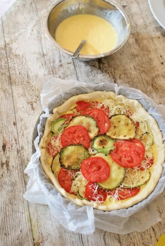 Quiche aux légumes d'été © Balico & co