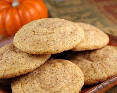 Pumpkin Snickerdoodles Recipe