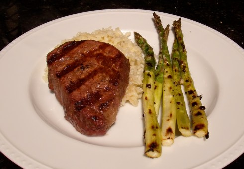 steakasparagusplate