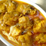 Mughlai Chicken with Almonds