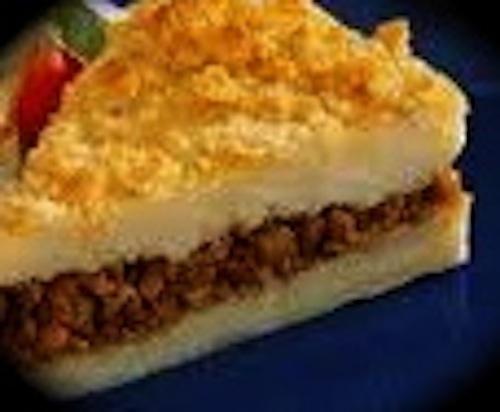Lebanese Baked Beef and Potato Pie fusion recipe - 'Kibbeh' - Recipes...
